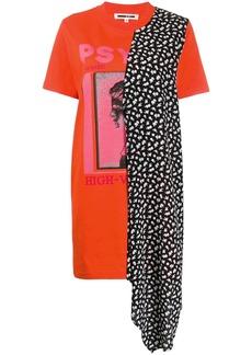 McQ Alexander McQueen asymmetric T-shirt dress