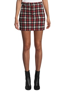 McQ Alexander McQueen Belted Mini Skirt