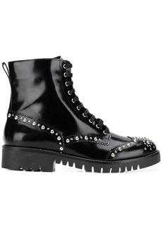 McQ Alexander McQueen Bess stud derby boots