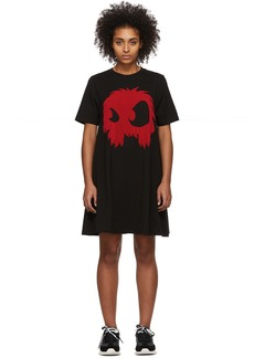 McQ Alexander McQueen Black & Red Mad Chester Dress