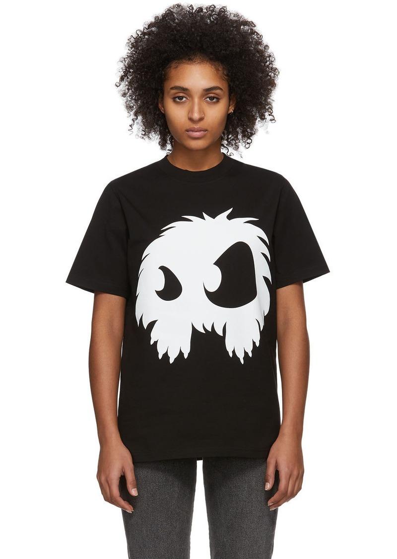 McQ Alexander McQueen Black & White Mad Chester T-Shirt