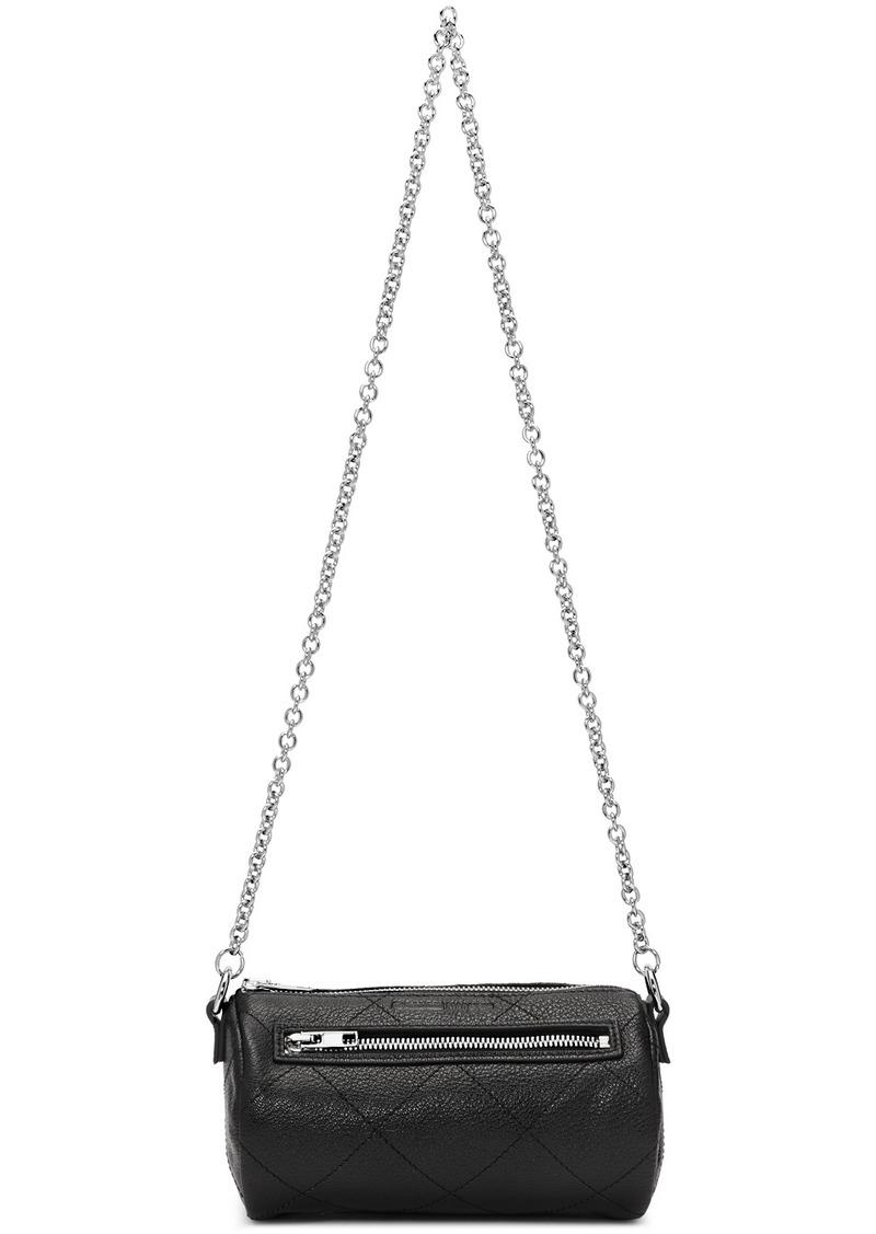 McQ Alexander McQueen Black Barrel Bag