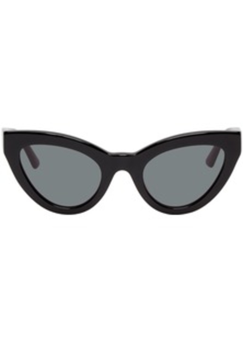 McQ Alexander McQueen Black Cult Cat-Eye Sunglasses