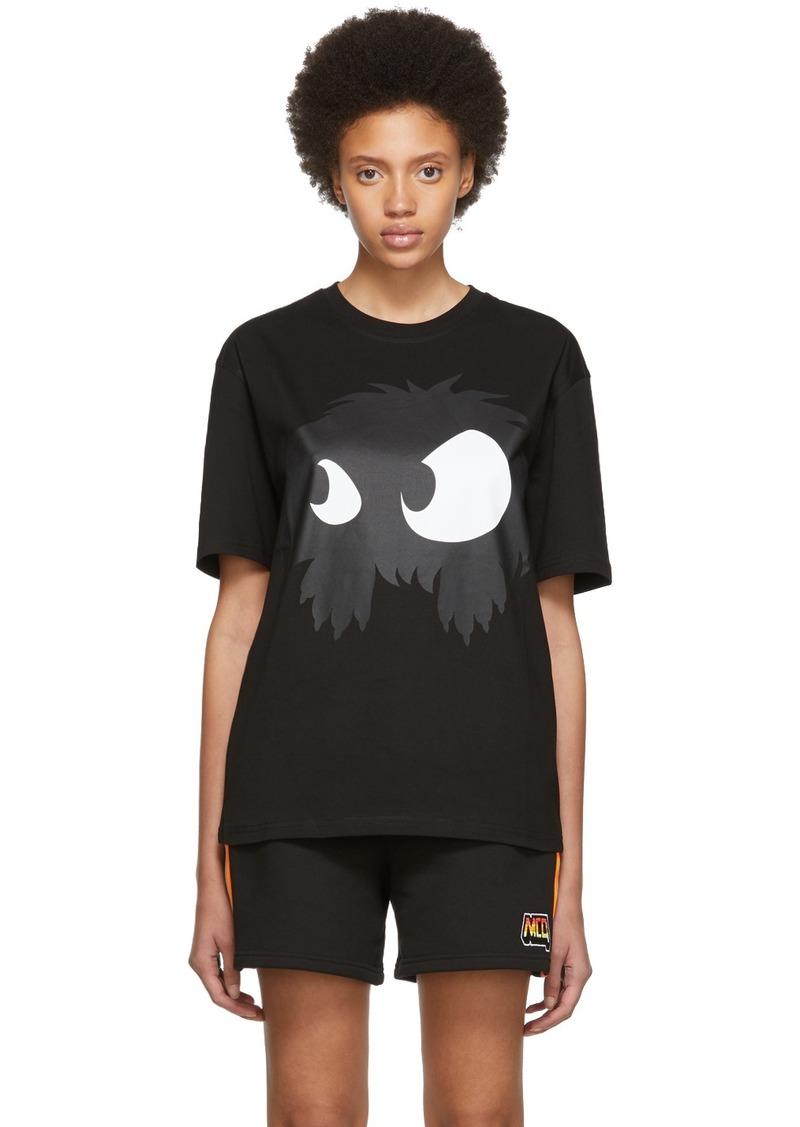 McQ Alexander McQueen Black Mad Chester Boyfriend T-Shirt