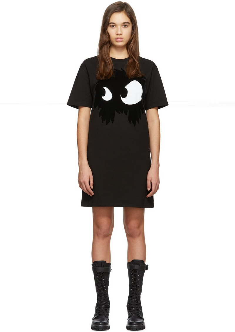 McQ Alexander McQueen Black Mad Chester Dress
