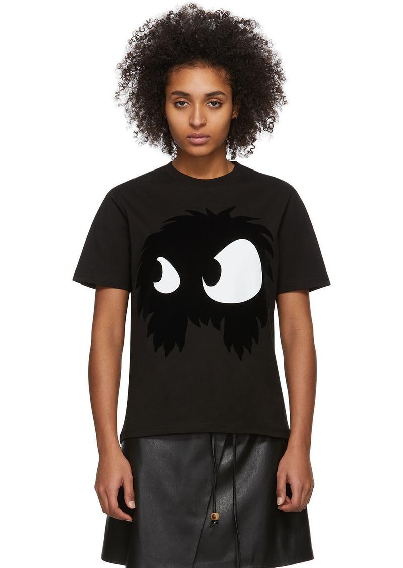 McQ Alexander McQueen Black Mad Chester T-Shirt