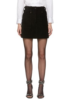 McQ Alexander McQueen Black Major Miniskirt