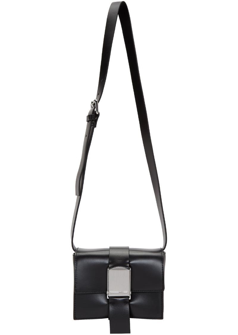 McQ Alexander McQueen Black Medium Christine Deluxe Shoulder Bag