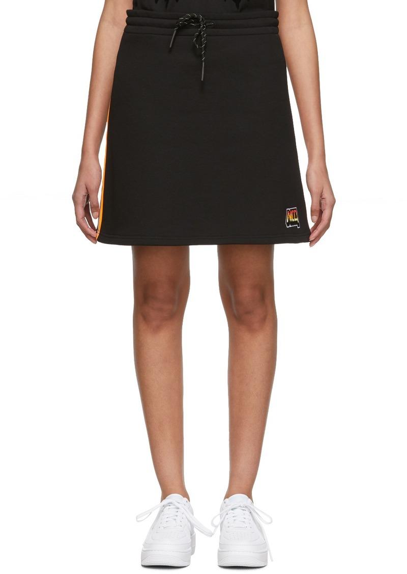 McQ Alexander McQueen Black Racer Miniskirt