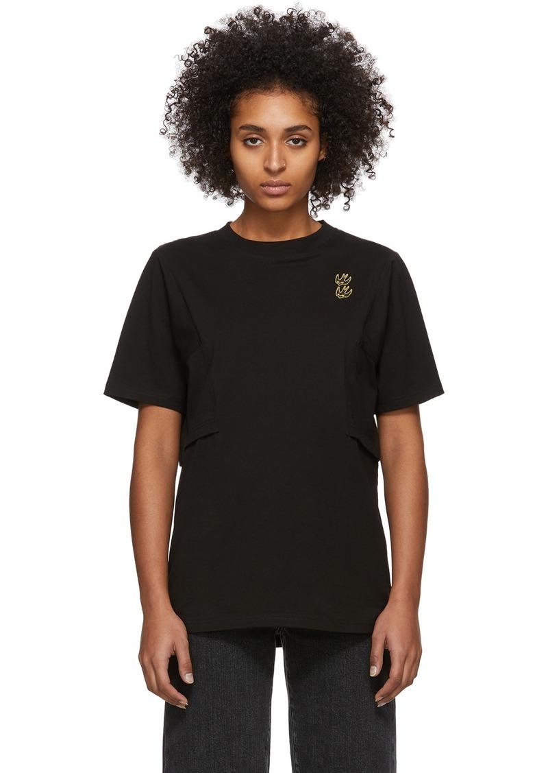 McQ Alexander McQueen Black Shizoku Boyfriend T-Shirt