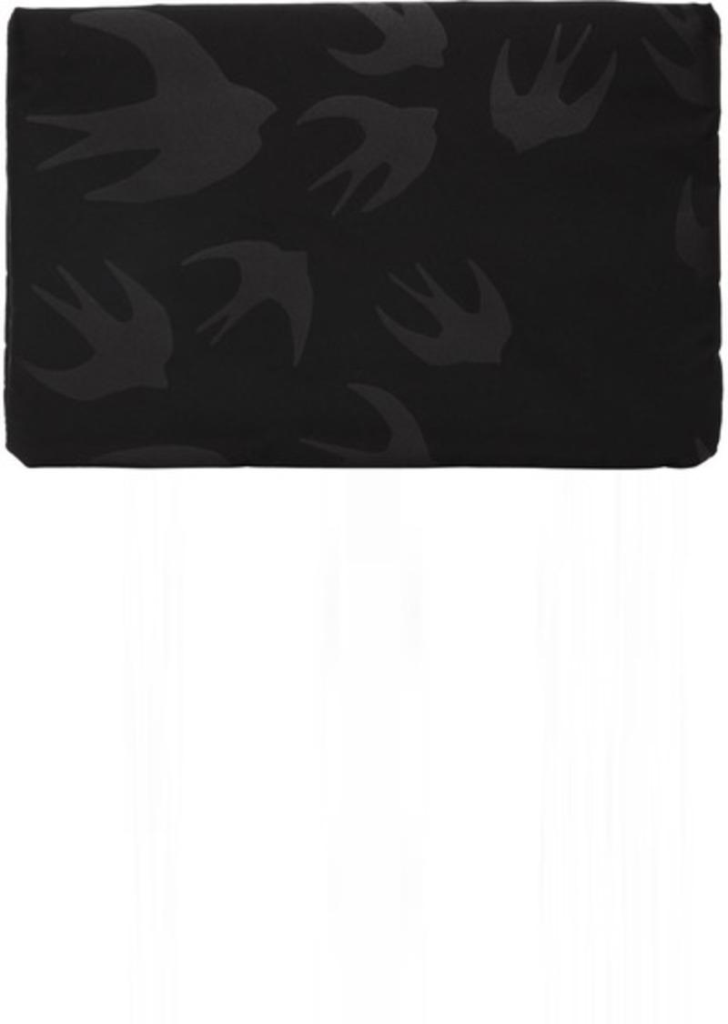 McQ Alexander McQueen Black Tabel Pouch