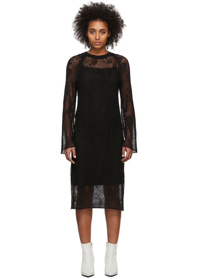 McQ Alexander McQueen Black Unoko Dress