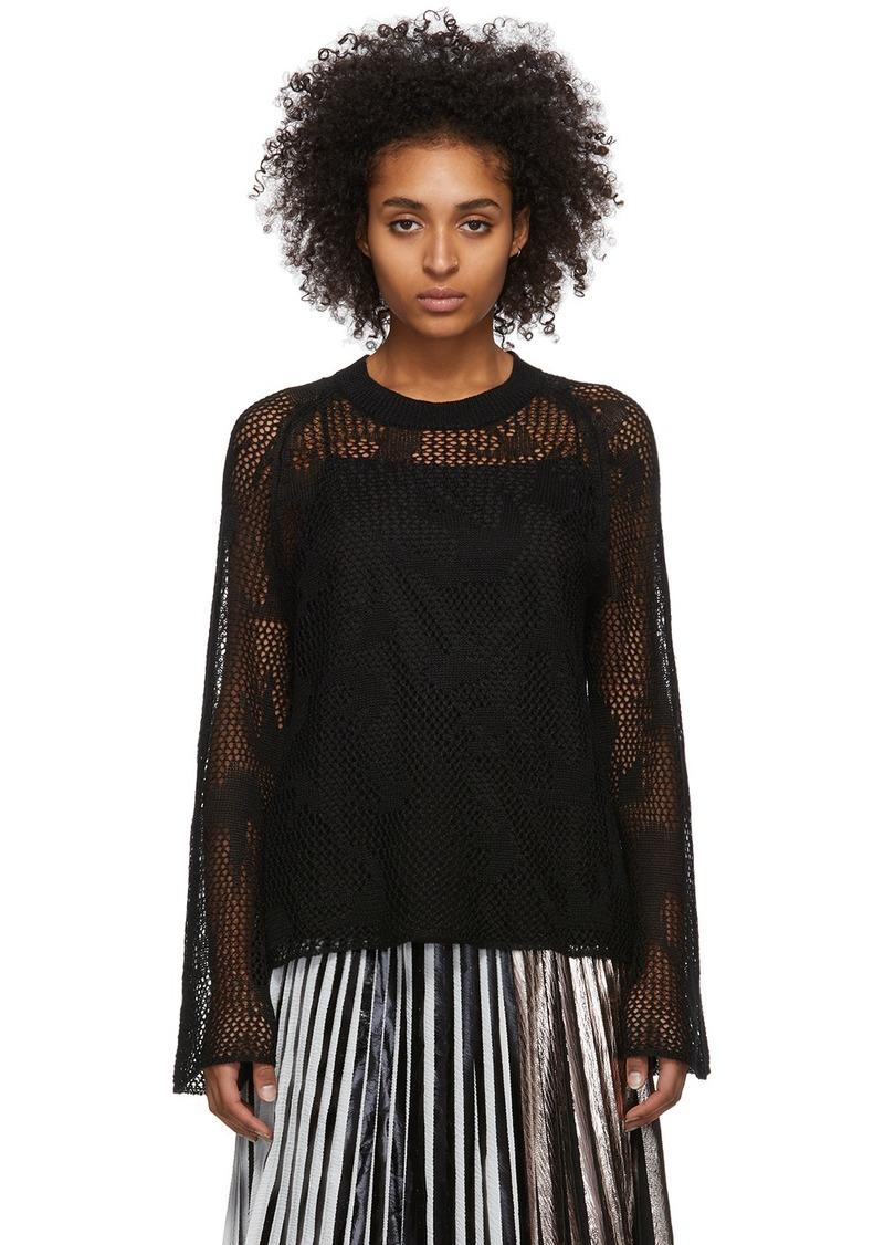 McQ Alexander McQueen Black Unoko Sweater