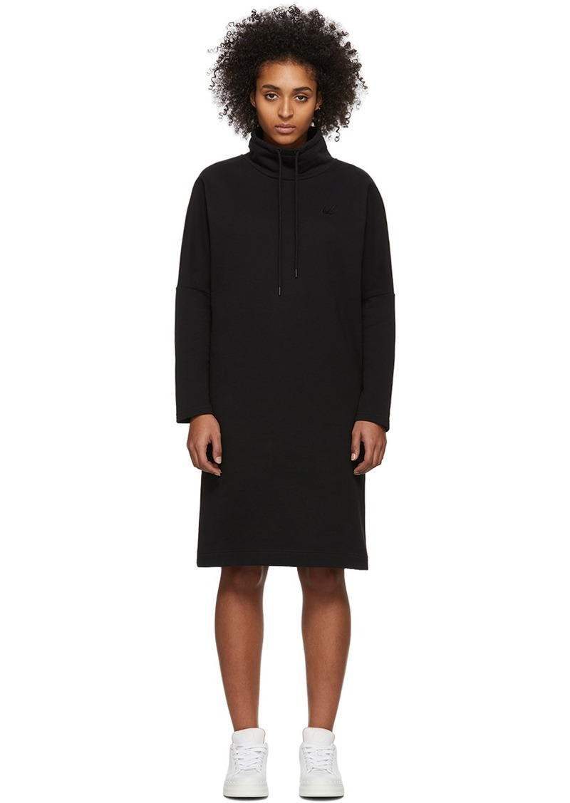 McQ Alexander McQueen Black Wakayo Sweat Dress