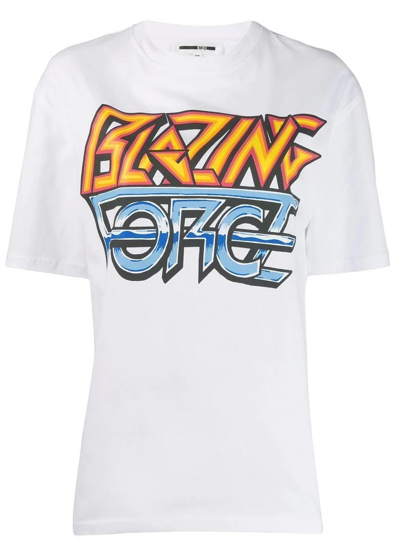 McQ Alexander McQueen Blazing Force T-shirt