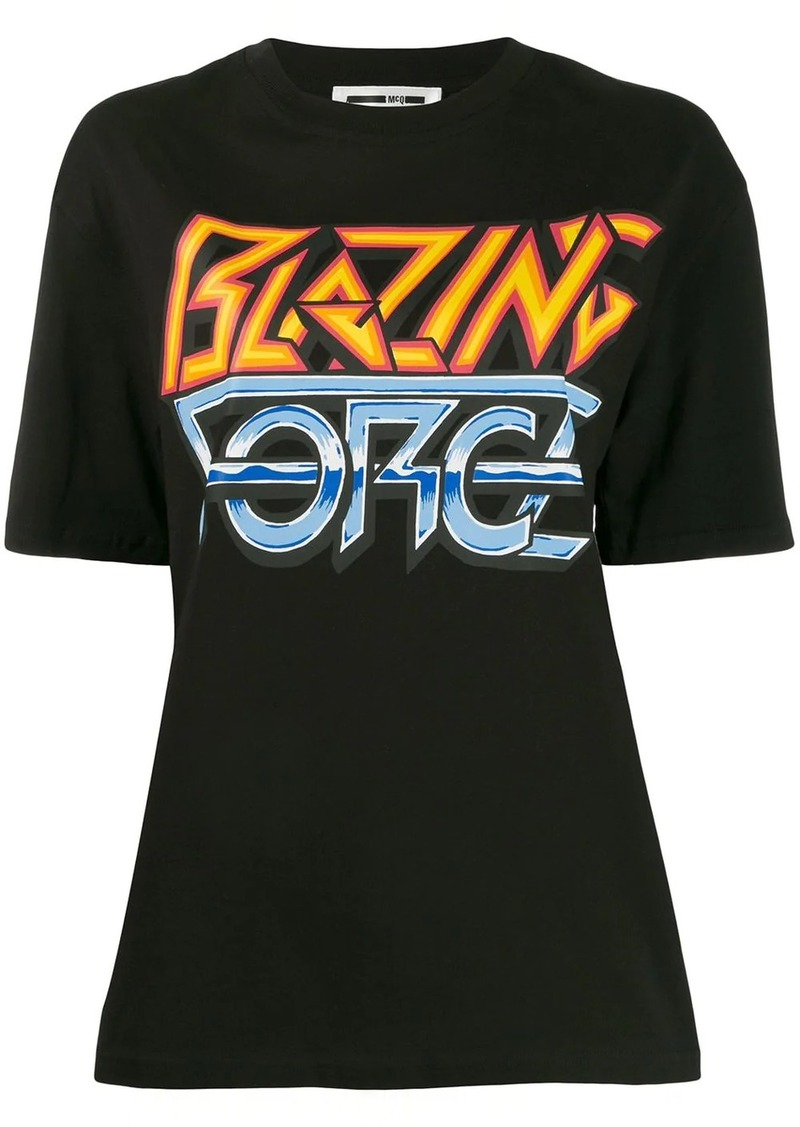 McQ Alexander McQueen Blazing Force T-shirt