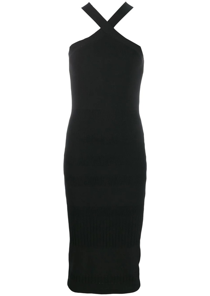 McQ Alexander McQueen bodycon midi dress