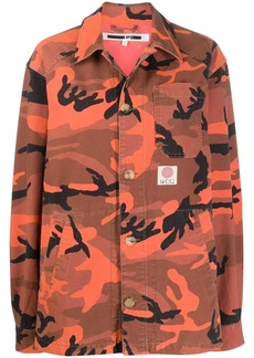 McQ Alexander McQueen camouflage print jacket