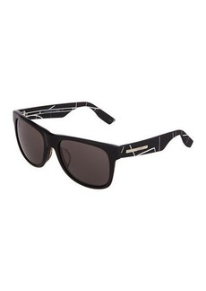 McQ Alexander McQueen Cat Eye Plastic Sunglasses