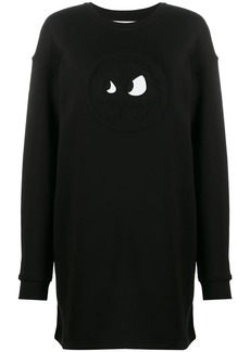 McQ Alexander McQueen chester monster sweatshirt dress