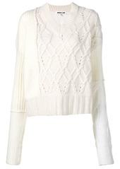 McQ Alexander McQueen chunky knit jumper