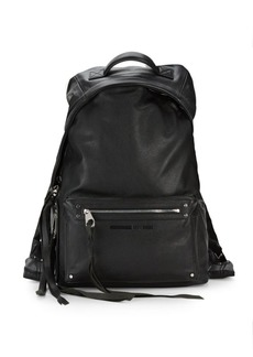 McQ Alexander McQueen Classic Leather Backpack