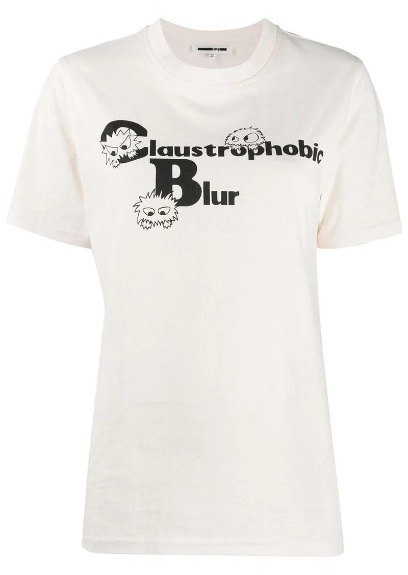 McQ Alexander McQueen Claustrophobic Blur T-shirt