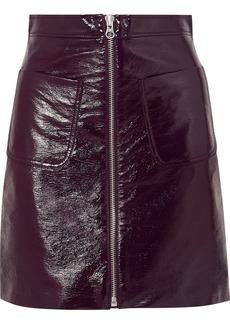 McQ Alexander McQueen Coated-cotton Mini Skirt