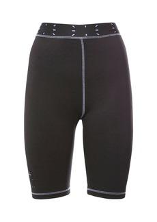 McQ Alexander McQueen Collection 0 Tech & Jersey Biker Shorts