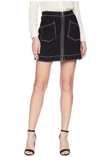 McQ Alexander McQueen Contrast Line Skirt