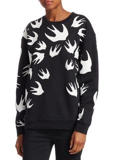 McQ Alexander McQueen Dove Print Sweatshirt