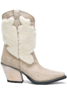 McQ Alexander McQueen cowboy boots