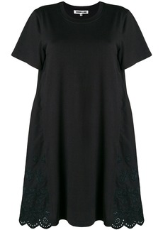 McQ Alexander McQueen crocheted flared dress