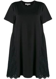 McQ Alexander McQueen crocheted flared dress