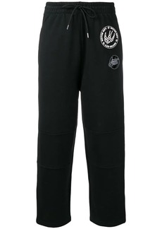 McQ Alexander McQueen cropped drawstring trousers