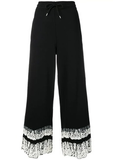 McQ Alexander McQueen cropped loose fit trousers