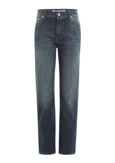 McQ Alexander McQueen Cropped Straight Leg Jeans