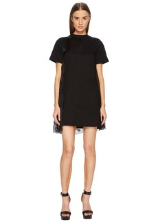 McQ Alexander McQueen Cut Up T-Shirt Dress