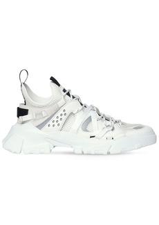 McQ Alexander McQueen Descender Leather & Fabric Sneakers