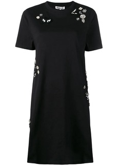 McQ Alexander McQueen Diamante Deco Swallow dress