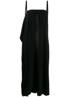 McQ Alexander McQueen draped sleeveless dress