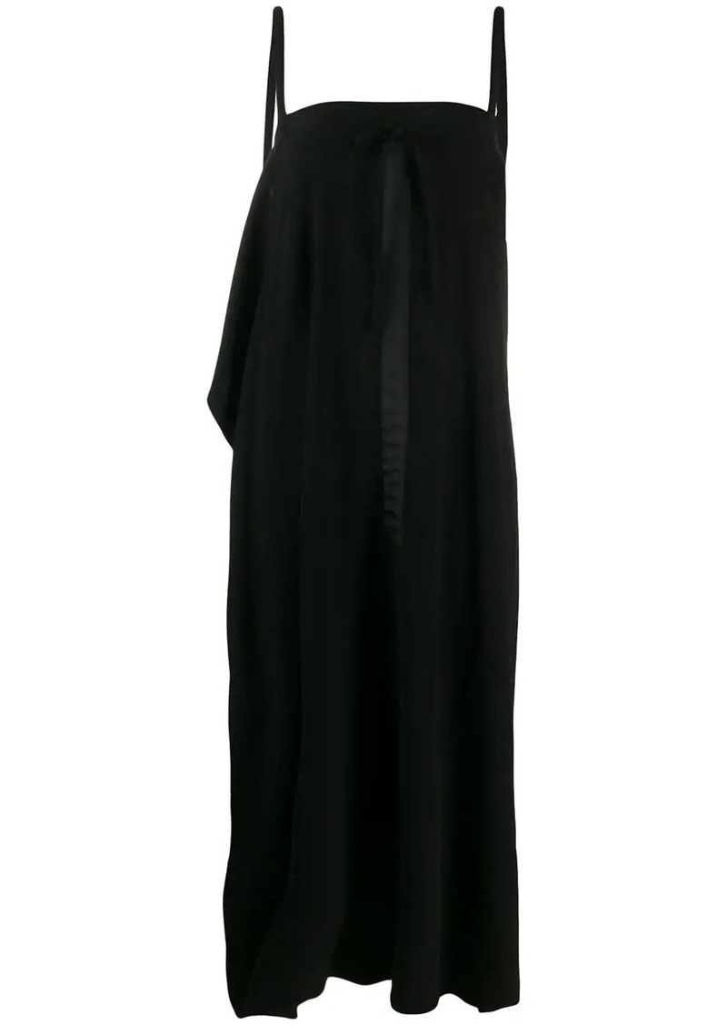 McQ Alexander McQueen draped sleeveless dress
