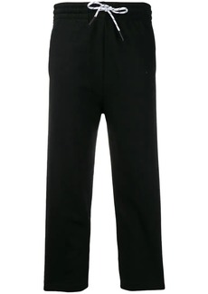 McQ Alexander McQueen drawstring cropped track trousers
