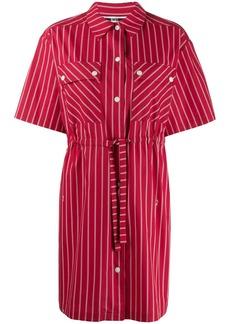 McQ Alexander McQueen drawstring waist dress
