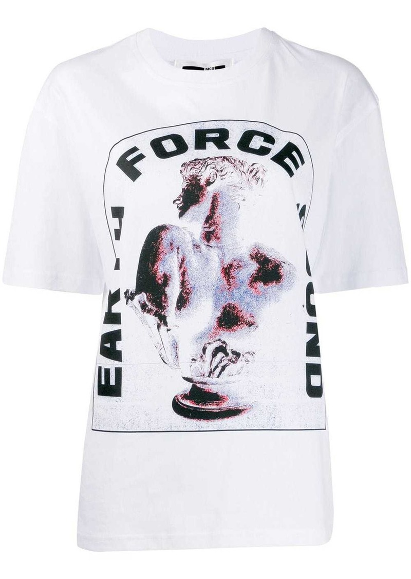 McQ Alexander McQueen Earth Force Sound T-shirt