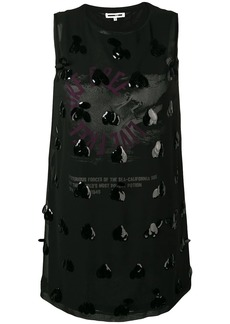 McQ Alexander McQueen embellished shift dress