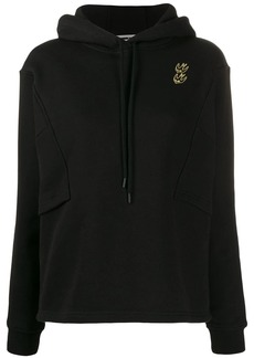 McQ Alexander McQueen embroidered bird detail hoodie