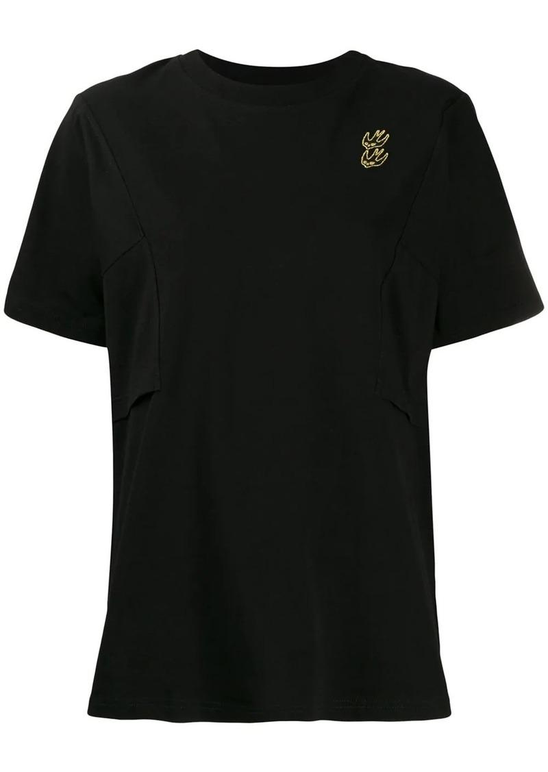 McQ Alexander McQueen embroidered bird detail T-shirt