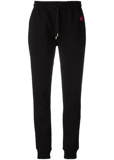 McQ Alexander McQueen embroidered dove track pants