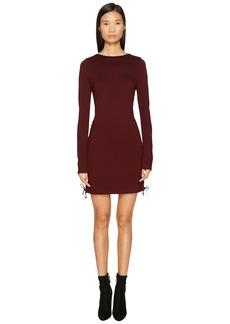 McQ Alexander McQueen Eyelet Mini Dress